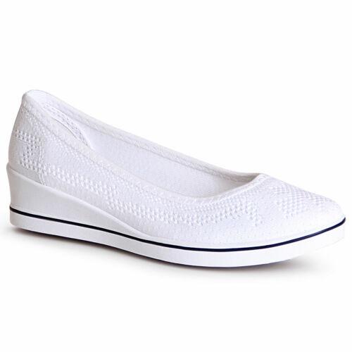 Chaussures Femme Semelle Compensée Ballerine Plateau Mocassins Baskets Escarpins