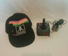 Atari classic 10-in-1 plug & play Jakks Pacific joystick game w/ atari hat retro