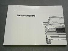 neue Bedienungsanleitung Betriebsanleitung Mercedes W126 420 500 560 SE SEL SEC