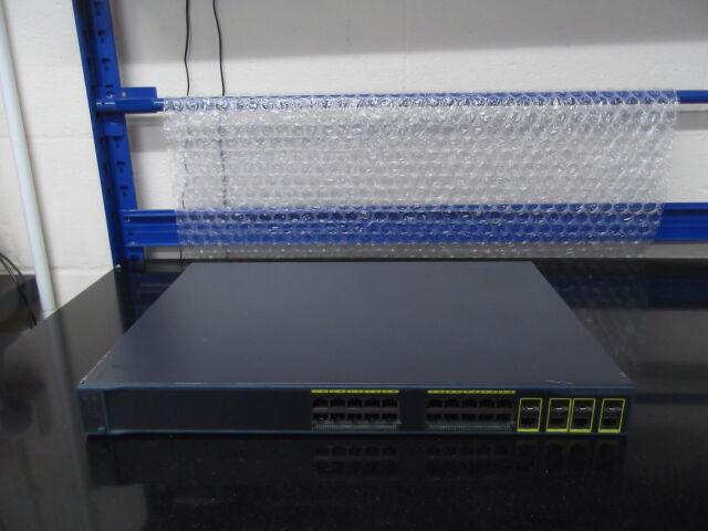 2 X Cisco Catalyseur 2960G WS-C2960G-24TC-L Ios 15 Gig Switch W 4 Baset / SFP