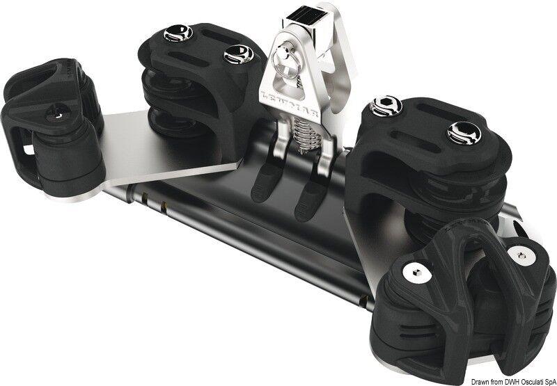 Wagen doppelt randa 1 Unterstützung vertikal Riemenscheiben doppelt Wagen mit Choke tube Marke d7f204
