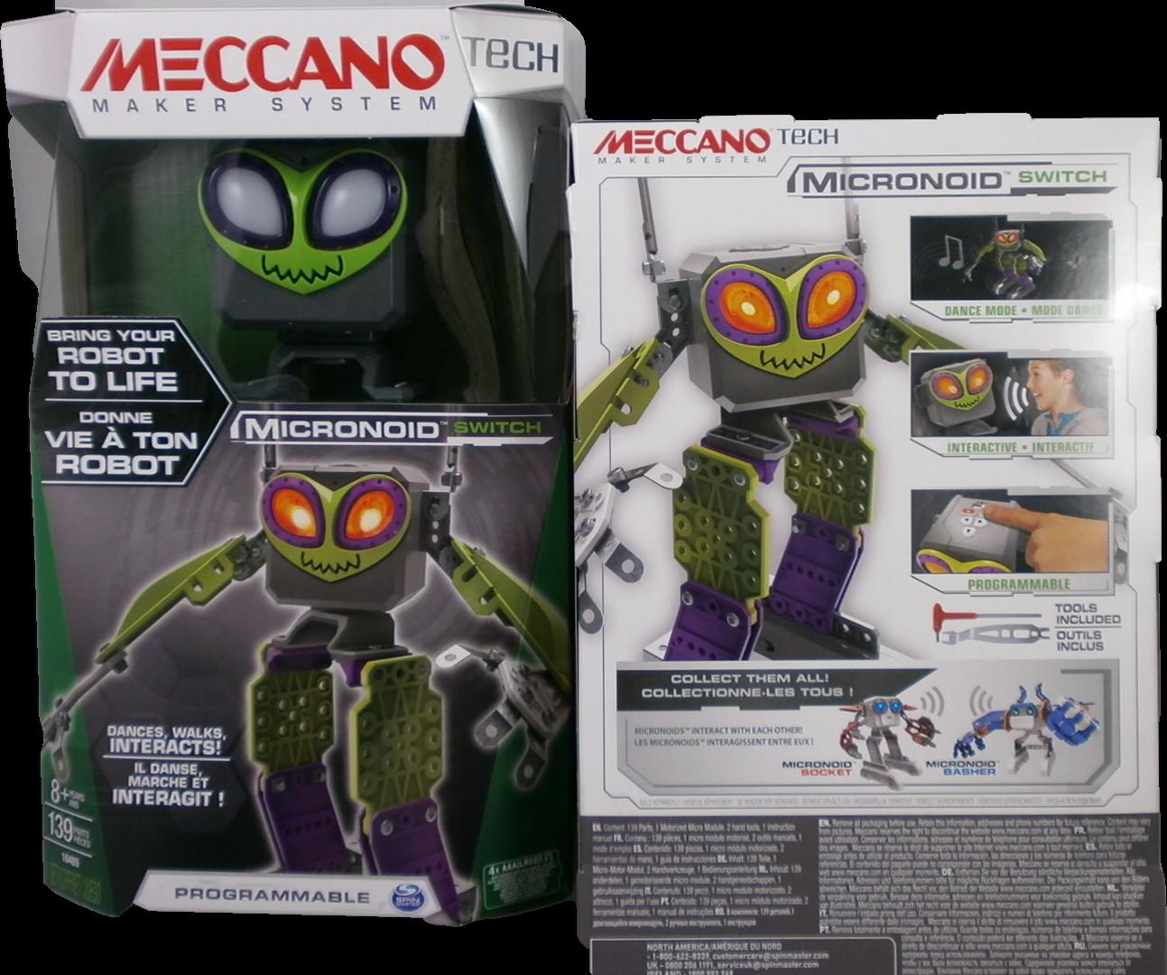 Spin Master - Meccano - Micronoid - Verde Nuovo + Originale