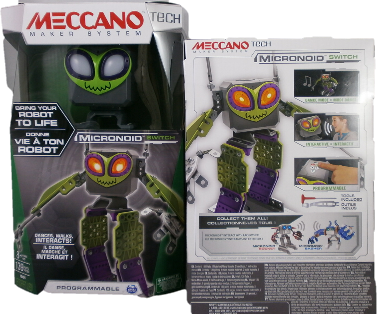 Spin Master - Meccano - Micronoid - grün            NEU+OVP