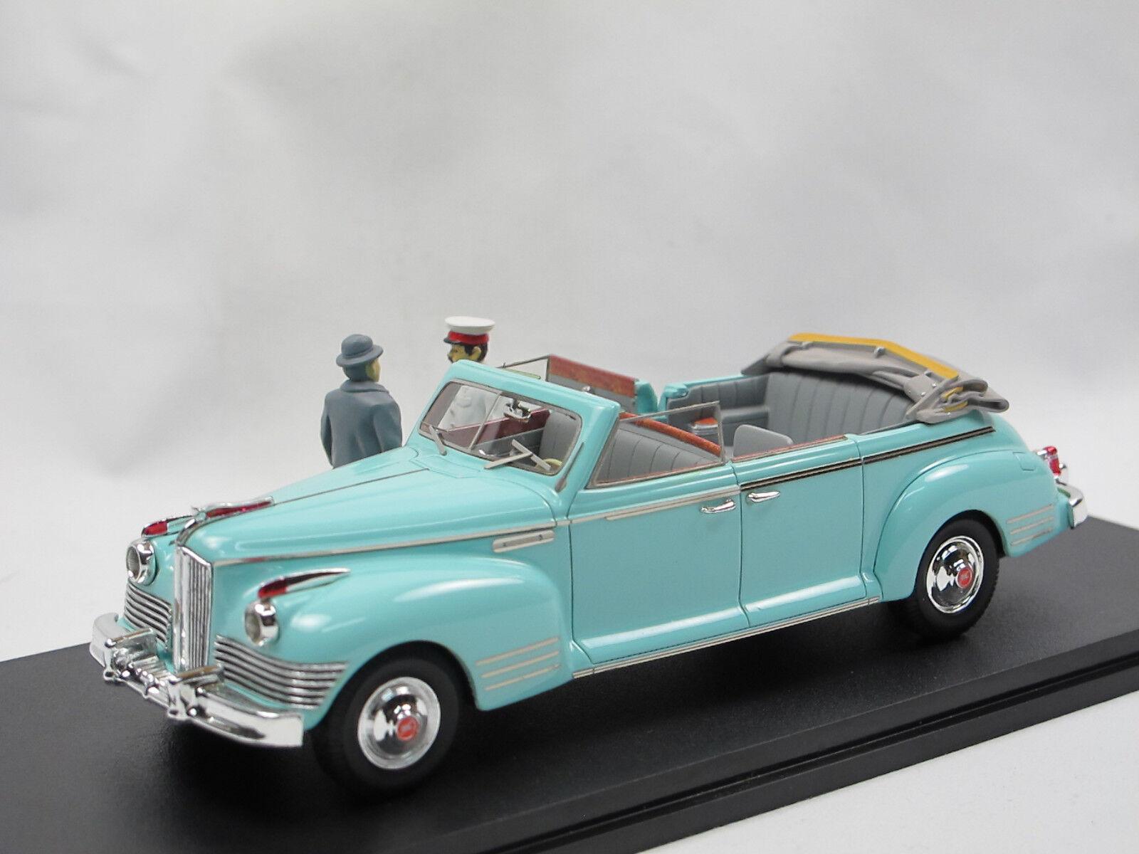 1950 sist 110 b - cabriolet mit stalin + chruschtschow figuren über 1   43 begrenzt