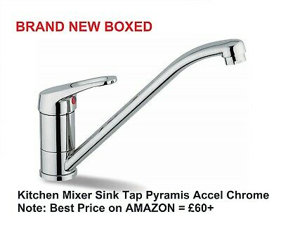 FRANKE WARTA 40 PLUS CHROME MODERN MONO MIXER TAP KITCHEN SINK SINGLE LEVER