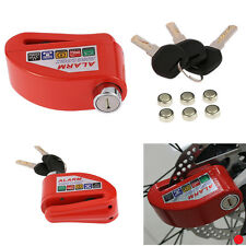 1x Motorcycle Scooter Anti-theft Wheel Disc Brake Lock Security Alarm For Ducati