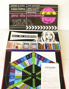 Ancien Jeu De Société Du Cinema Par Claude Chabrol - Miro Company Rare