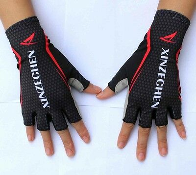 2016 GEL Pad XINZECHEN Brand Shockproof Cycling Bike Bicycle Half Finger Gloves