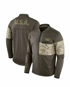 adf6c1798 Nike 2017 Pittsburgh Steelers Salute To Service STS Sideline Hybrid ...