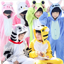 Hot sale kids Pajamas Kigurumi Unisex Cosplay Animal Costume  sleepwear!