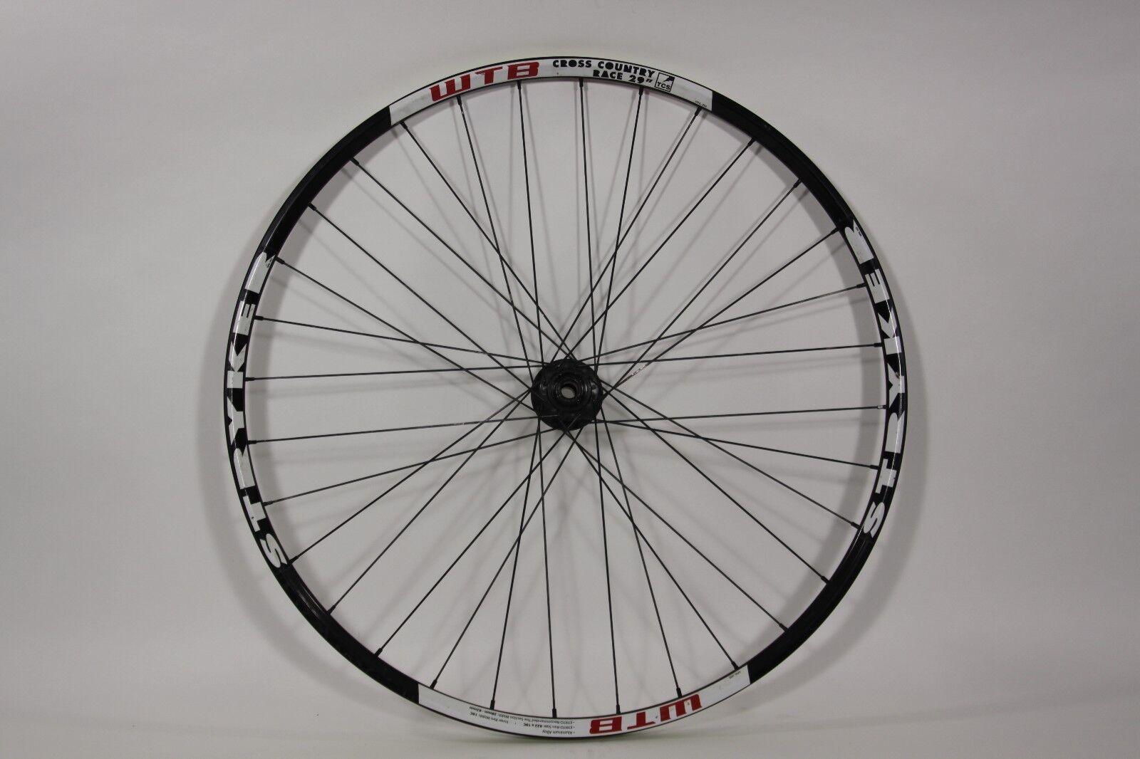 29er Rear Wheel WTB Stryker Cross Country Race 135 x 10mm QR TCS 6 bolt 32h R18