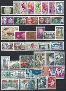 FRANCE-ANNEE-1968-COMPLETE-40-TIMBRES-NEUFS
