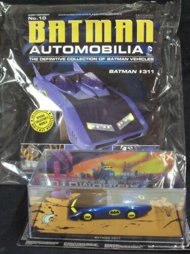 "Batman Automobilia Colección #10 /""Batman #311/"" EAGLEMOSS"