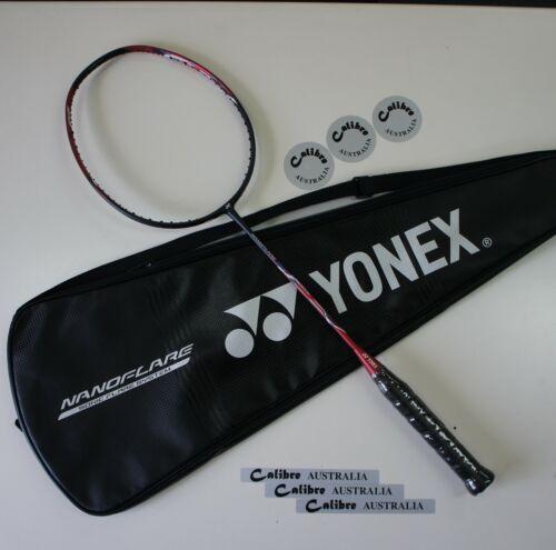Choice of  String /& Tension YONEX Nanoflare 700 Badminton Racket NF700 4U5 Red