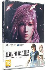 Final Fantasy XIII-2 (Steelbook/Pre-Order Bonus Pack) NEW SEALED