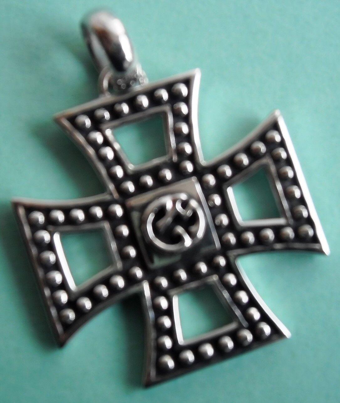 Massiver silver Anhänger Kreuz, Morellato