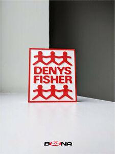 Decorative Self standing DENYS FISHER logo display