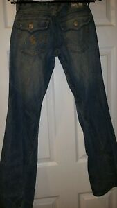 Flare rn112790 True taille 28 ~ Jeans Religion pour Twisted Distressed femmes ~ euc joey 7aBAqZBEw