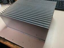 Large Aluminium Heat Sink 9 X 7 12 X 4 Used 6