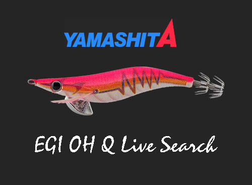 Yamashita EGI OH Q LIVE SEARCH #2.5 Basic B03/BPK Warm Jacket Rattle Squid Jig