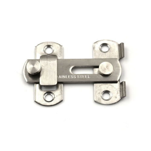 Stainless Steel Home Safety Gate Door Bolt Latch Slide Lock 20x50x70mODUS