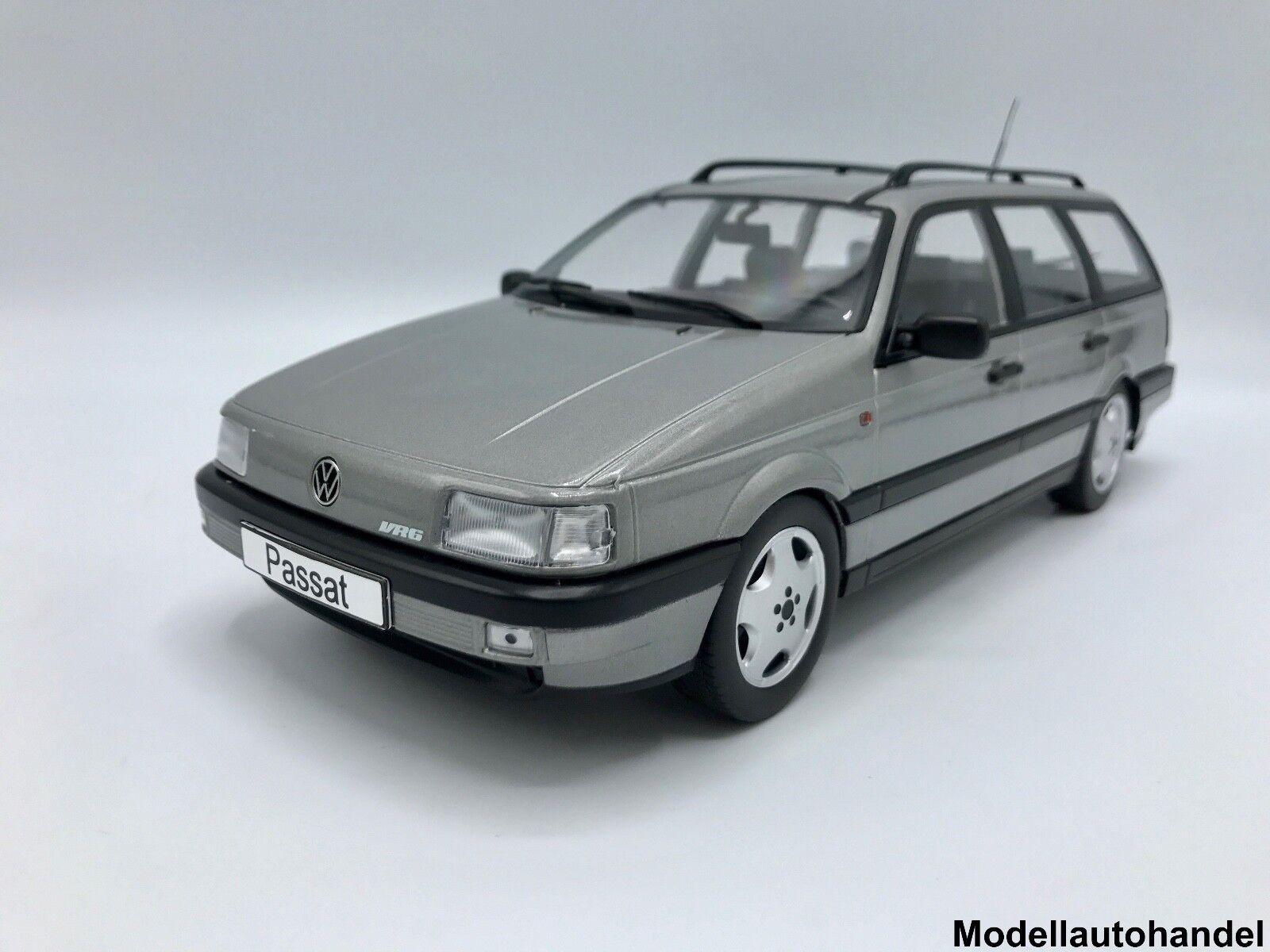 VW Volkswagen Passat B3 VR6 VR6 VR6 Variant 1988 - metallic-grau - 1 18 KK-Scale  | Online Kaufen  adbb31