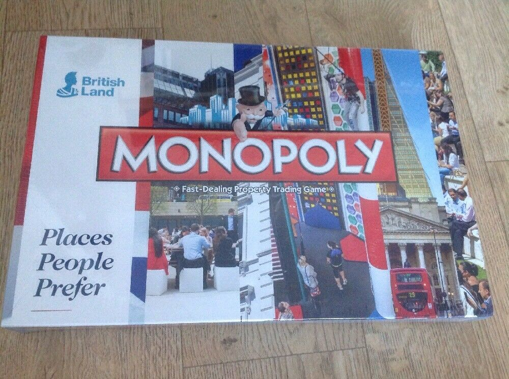 Monopoly, We Are Placemakers,British Land, Places People Prefer, New Sealed