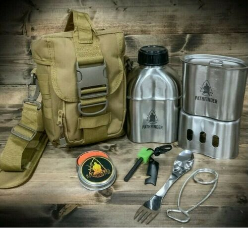 Canteen Campfire Survival Cooking KitFREE USA Delivery!