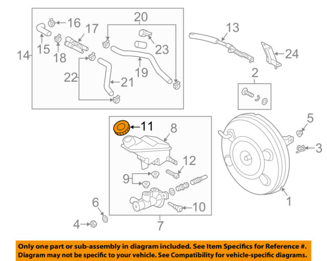 s l640 oem brake master cylinder fluid reservoir cap for hyundai 585312b500