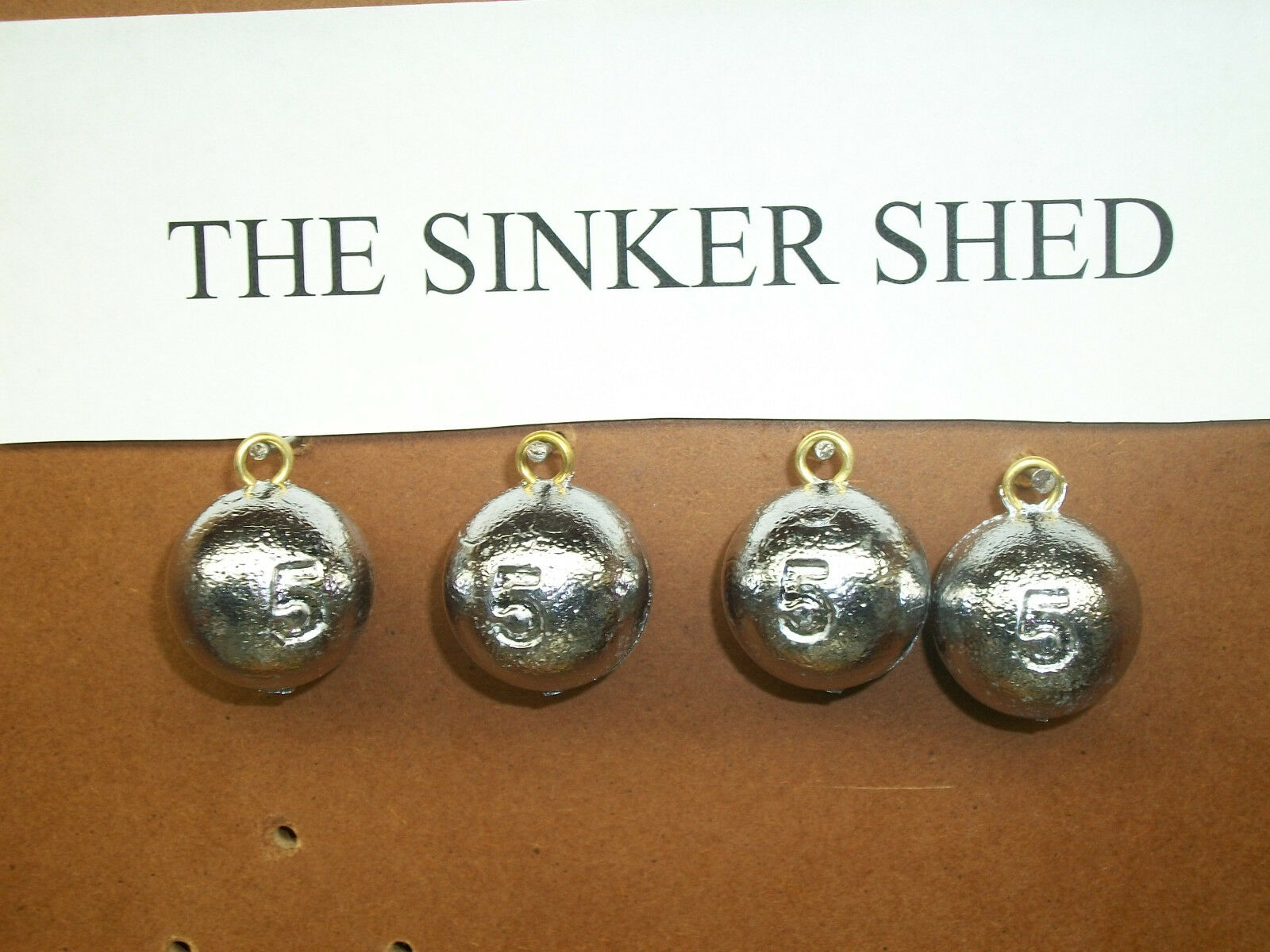 5  oz cannon ball sinkers - choose quantity 12 25 50 100 200 - FREE SHIPPING  the best online store offer
