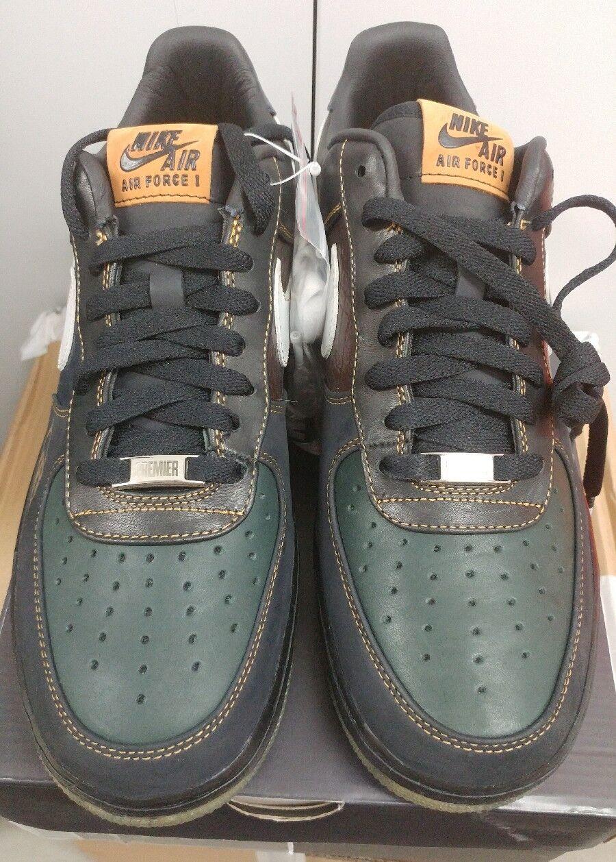 DS NIB Nike Air Force 1 Low Premmium DJ Premeir 395178 001 size 9.5 Atmos