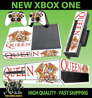 Video Games & Consoles Logical Xbox One Console Sticker Queen Band Legends Freddy Mercury Skin & 2 Pad Skins Aromatic Character And Agreeable Taste