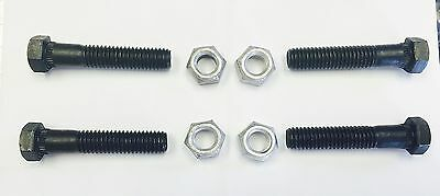 Tubular Control Arm Bolt Kit Upper and Lower SERRRATED Camaro Chevelle 16 pc.