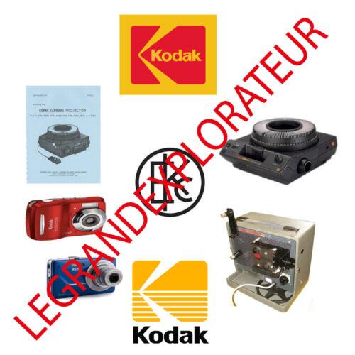 70 PDFs manual s on DVD Ultimate  Kodak  repair parts and service manuals