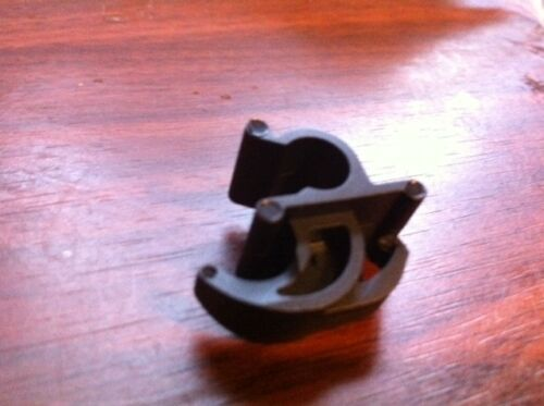 NOS 1999-2004 FORD MUSTANG FACTORY HOOD SUPPORT PROP ROD MOUNTING CLIP NEW