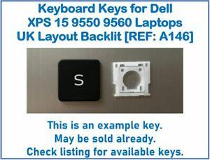 Keyboard Keys for Dell XPS 15 9550 9560 Laptops UK Layout Backlit [REF: A146]