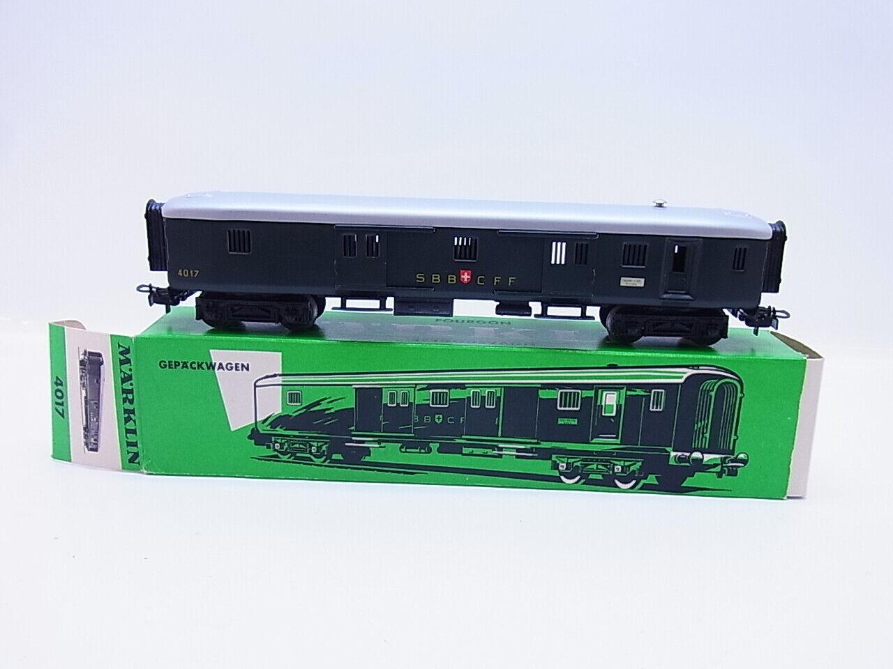 Lot 56669   marklin h0 4017 autorello borsaagli delle SBB verde in scatola originale
