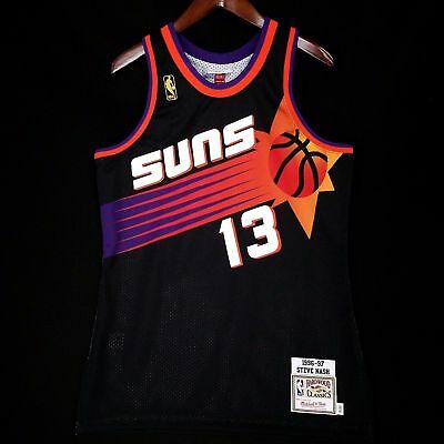 detailed look 8c2ba 45538 100% Authentic Steve Nash Mitchell & Ness 96 97 Suns Jersey Size 44 L Mens  | eBay