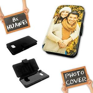 Details zu Flipcase für Huawei P-Serie * eigenes Foto * Schutzhülle Etui  selbst gestalten
