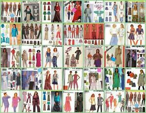 Simplicity-Sewing-Pattern-Misses-Wardrobe-Separates-with-Plus-Sizes-You-Pick