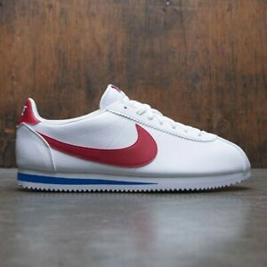 detailed look fef46 2ceca Details about 2018 Nike Classic Cortez Forest Gump White Red Blue Size 11.  749571-154