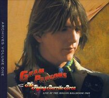 GRAM PARSONS WITH FLYING BURRITO BROS 2 CD SET LIVE AT THE AVALON BALLROOM 1969