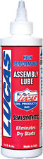 Semi-Synthetic Engine Motor Assembly Lube 8 Oz - Lucas Oil 531274 / 10153