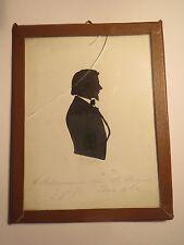 Jena - 1854 - Student E. Ackermann - Schattenriss Silhouette