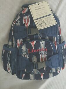 Pottery Barn Kids Mini Pre K Backpack Quot Lincoln Quot Rockets