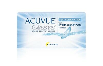 Acuvue Oasys For Astigmatism,johnson&johnson 7 St, D -1,25, Cyl -0,75, Axis 180 Billigverkauf 50%