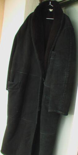 Ferretti Italy pelle 42 Alberta in Ledermantel pelle Giacca Made di In 44 cappotto qZAtw