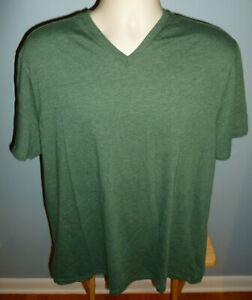Banana-Republic-Ajustee-Vee-Vert-T-Shirt-Col-V-Extra-Large-XL
