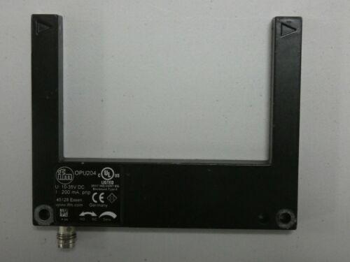 OPU204 Photoelectric fork sensor