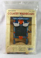 Just Ducky Wood Craft Kit country Washboard Kit 709 Wang's International